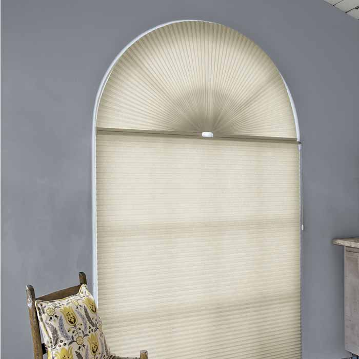 Non-Movable Arch Honeycomb Shades